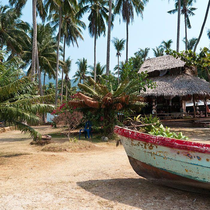 Boat, Koh Chang, Thailande