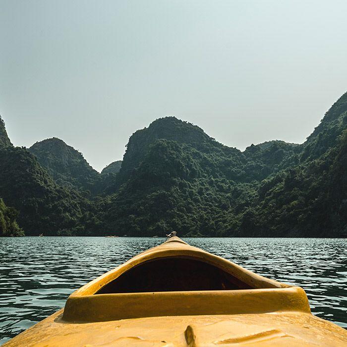 Kayak, Halong Bay, Vietnam