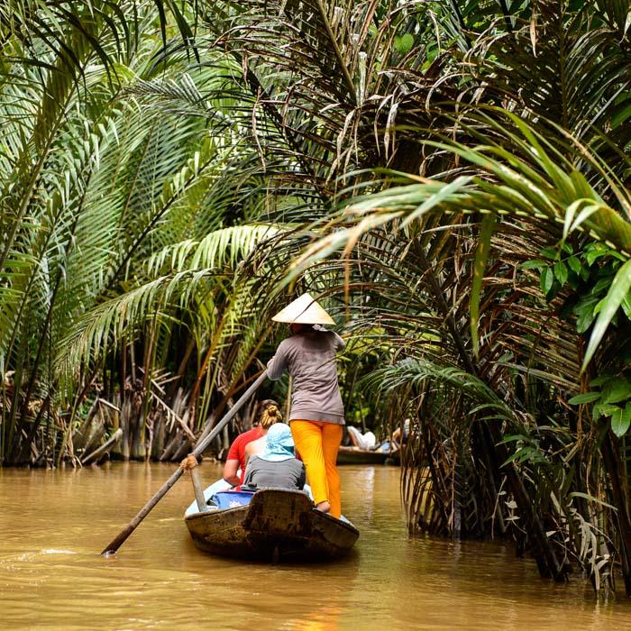 Boat, Ride, River, Mekong, Vietnam