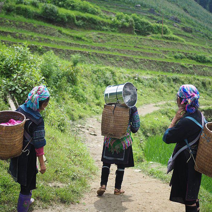 Trek, Quang Ha, Chien Thang, Vietnam
