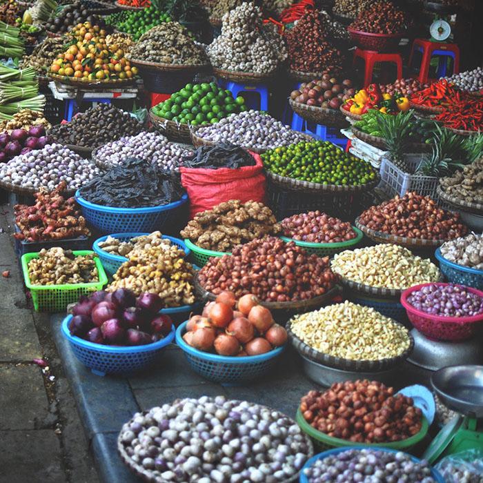 Market, Hanoi, Vietnam, Stéphan Valentin