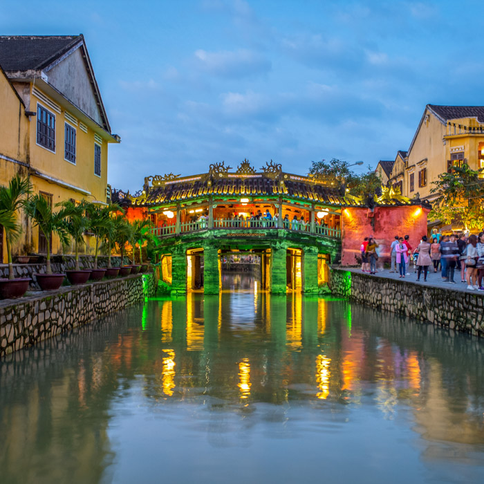 Vietnam, Hoi An, Japanese Covered Bridge