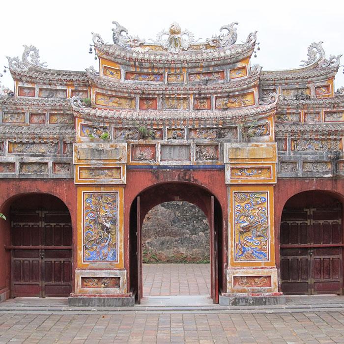 Old Gate, Hue, Vietnam