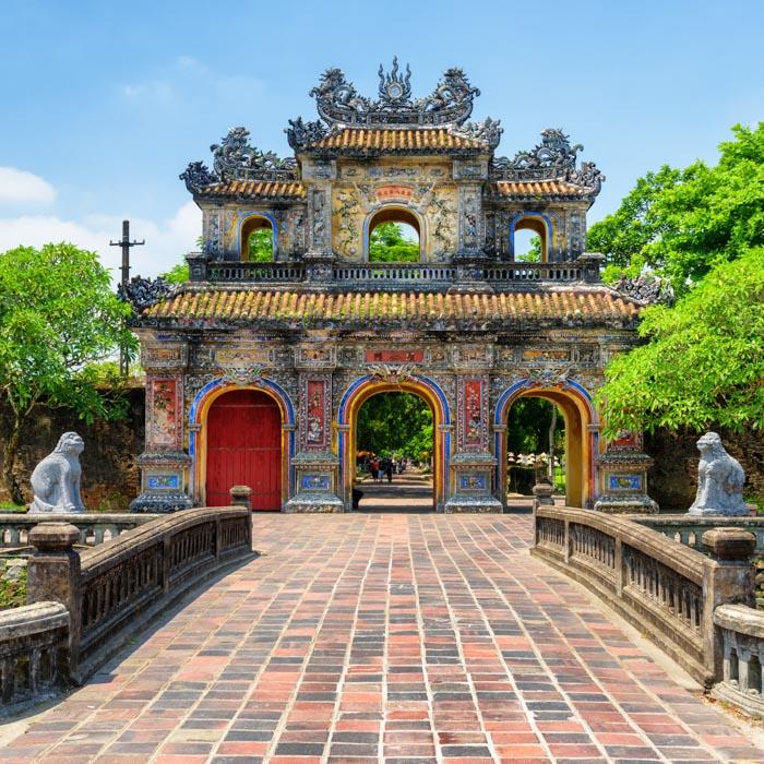 Vietnam, Imperial city, Hue