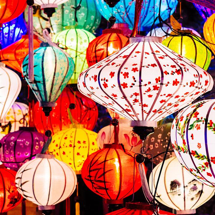 Lanterns, Vietnam