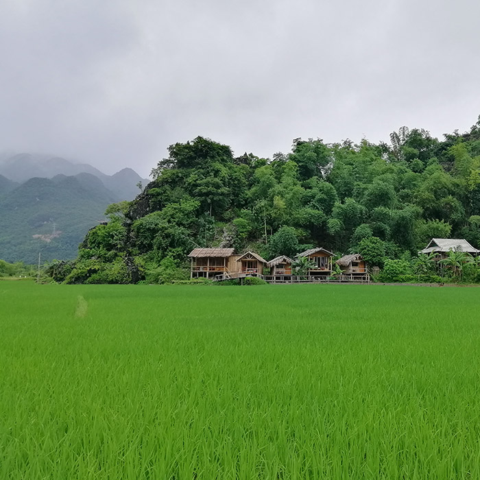 Vietnam, Mai Chau, valley