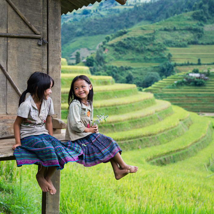 Vietnam, Children, Hmong, ethnic minority