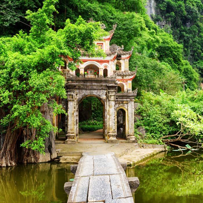 Vietnam, Ninh Binh Bich, Pagoda