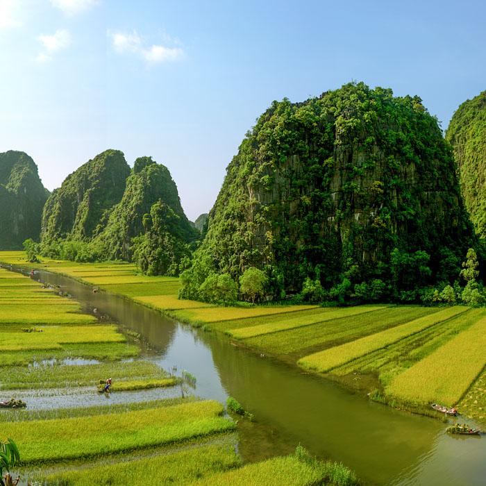 Vietnam, Ninh Binh, terrestrial Halong Bay