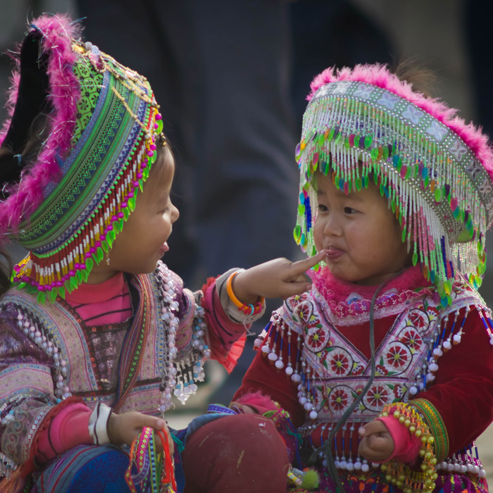 Vietnam, Sapa, Hmong, Tribes, Traditional