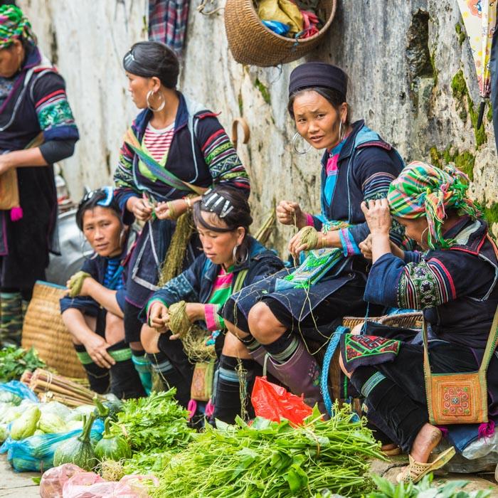 Vietnam, Women, Traditional costumes, Hmong