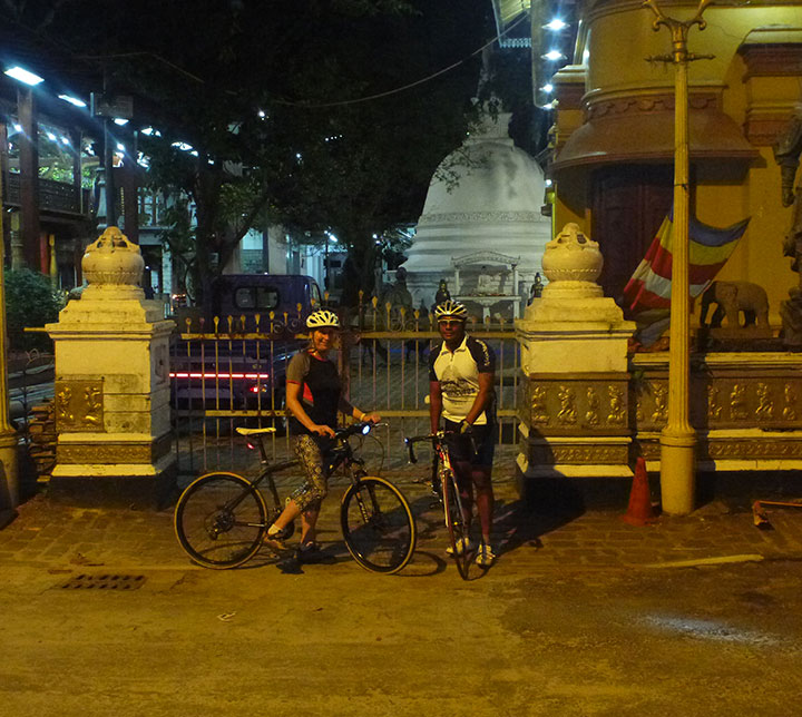 Night cycling & street food adventure