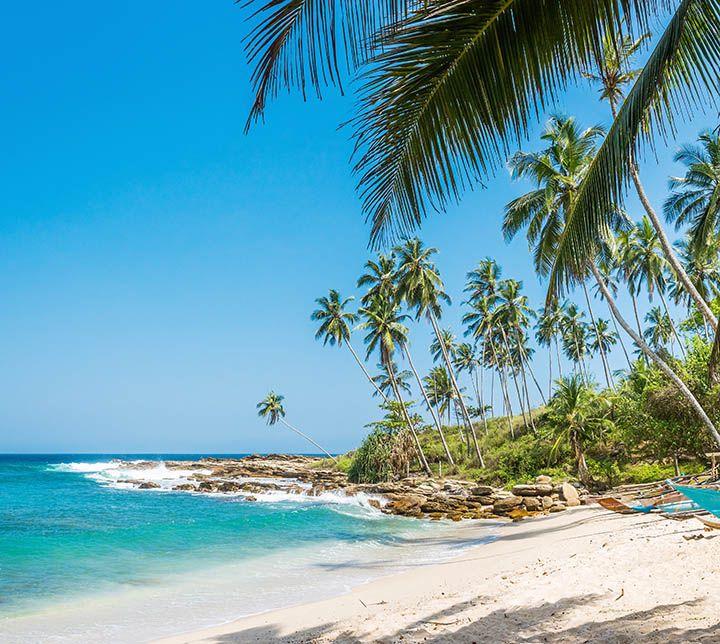 Beach, South Coast, Sri Lanka