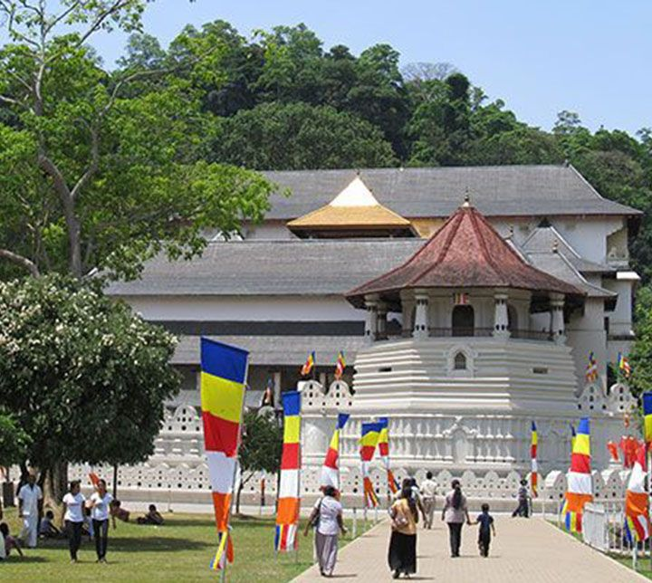 Sri Lanka, Kandy, Temple Tooth