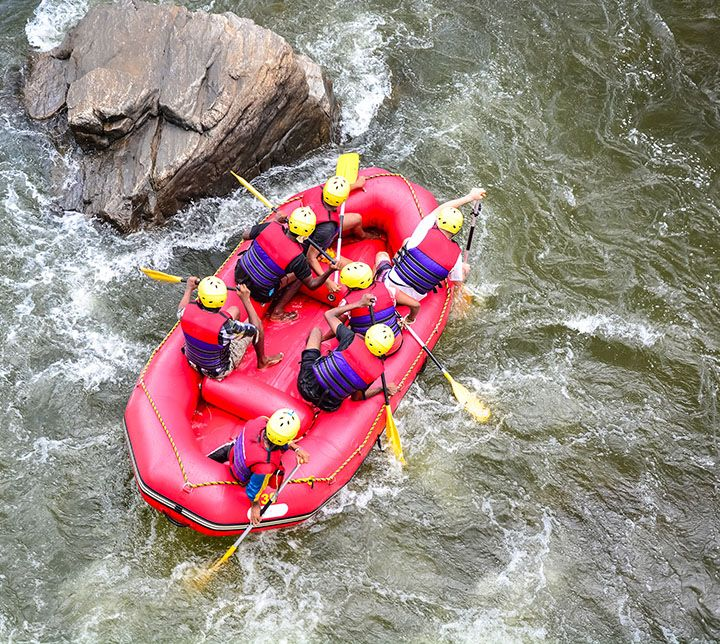 Sri Lanka, Rafting, River, Kelani