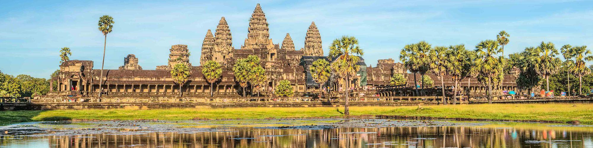 Cambodia, Angkor Wat, Temples