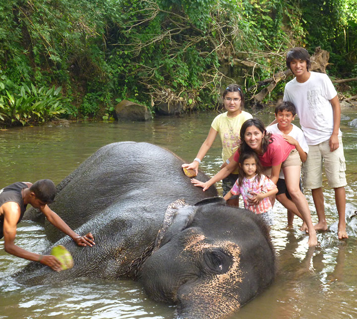 Family vacation in Sri Lanka
