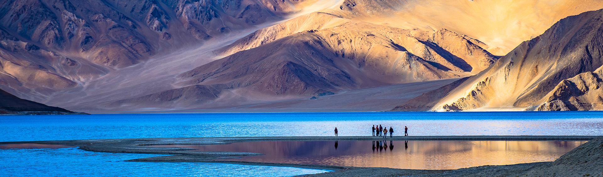 Inde, Ladakh, Leh, Montagne, Lake