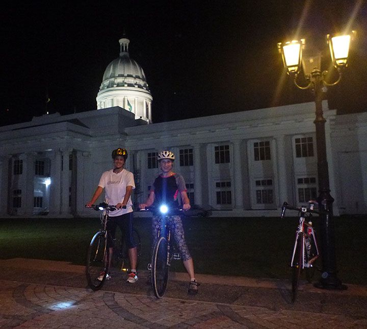 Sri Lanka, Colombo, Cycling tour