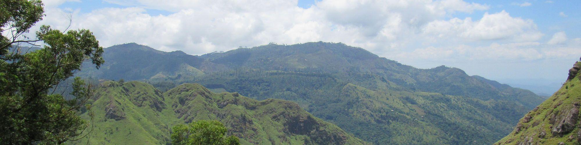 Sri Lanka, Ella Rock, View
