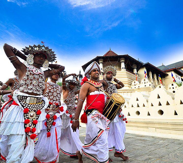 Dancers, Perahera, Kandy, Sri Lanka