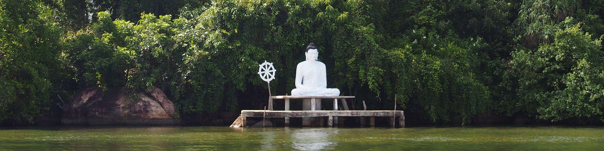 Sri Lanka, Madu Ganga, Buddha