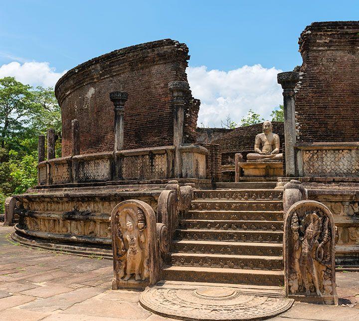 Sri Lanka, Polonnaruwa, Ruins, Temple