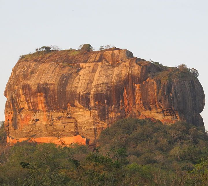 Sri Lanka, Sigiriya, Lion's Rock