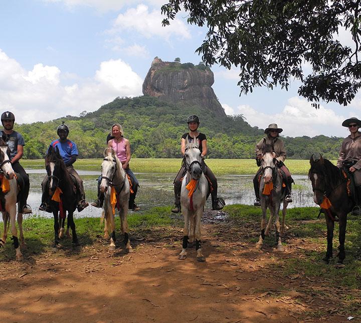 Riding in Sigiriya