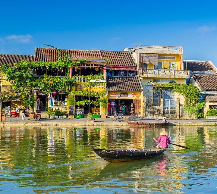Vietnam, Hoi An, Boat
