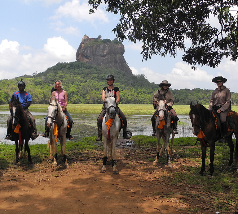 Horse riding tour in Sri Lanka